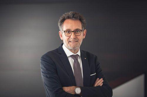 Gerhard Burtscher, Vorstandsvorsitzender der BTV. fasching