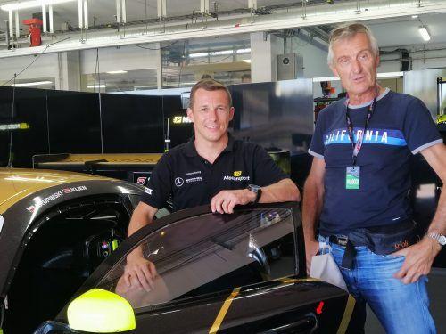 Christian Klien gab VN-Mitarbeiter Hermann Bischof nach einer respektablen Saison mit dem JP-Motorsporteam einen Einblick in sein Rennsportleben.Manfred Noger