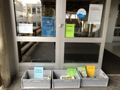 #ClosedButOpen heißt es in den Verbundbüchereien Haselstauden, Hatlerdorf, Oberdorf, Rohrbach, Schoren und Wallenmahd.lcf