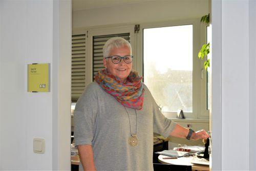 Das Besuchsmanagement, Planen und Koordinieren gehören zum Alltag von Ingrid Furxer, Geschäftsführerin der MOHI Dornbirn.Mohi