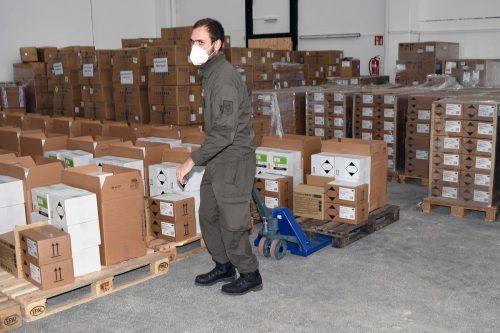 Das Bundesheer hat mit der Verteilung der Schnelltests und Schutzausrüstungen in Vorarlberg begonnen. koppitz