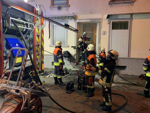 Das Haus in der Ilgagasse wurde am Freitagabend evakuiert. Vol.at/Vlach