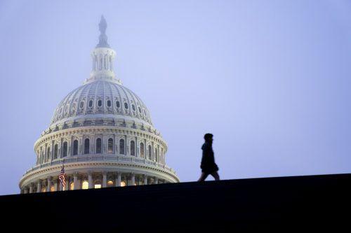 De Demokraten waren im Vorfeld zuversichtlich. Doch eine Kontrolle des Senats ist unwahrscheinlich. AFP