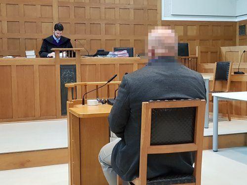 Der Angeklagte wies zwar sämtliche Beschuldigungen von sich, schlussendlich akzeptierte er jedoch das Urteil. ECKERT