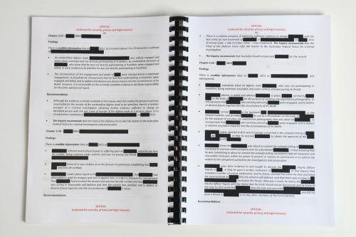 Der Bericht ist Produkt einer vierjährigen Untersuchung. reuters