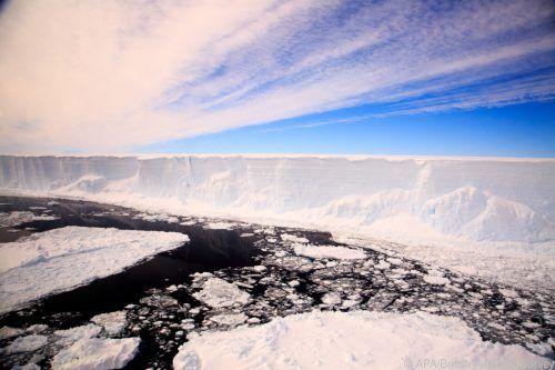 Der Eisberg A68 hatte sich im Juli 2017 vom Larsen-Schelfeis gelöst. AFP