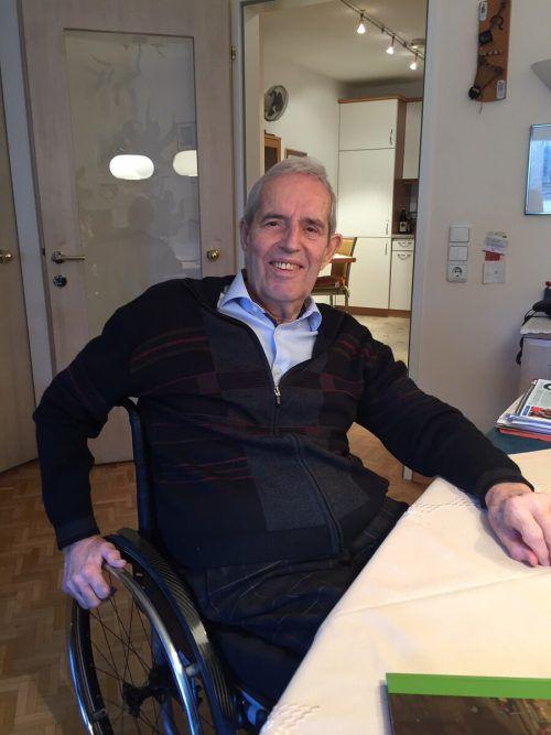 """Der erfolgreiche Unternehmer hat sich endgültig in den Ruhestand verabschiedet und """"Nachbaur Reisen"""" seinem Neffen Michael Nachbaur übergeben. kum"""