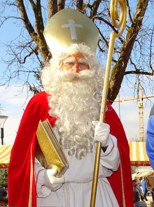 Der geplante Nikolausbesuch im Freien ist leider nicht möglich.Symbolfoto