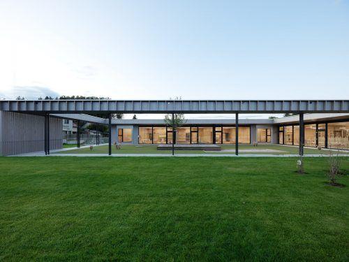 Der Kindergarten Mühlgasse im steirischen Lannach überzeugte mit seiner Architektur die hochkarätige Jury des Architekturpreises Geramb Rose. FA/Berktold Weber