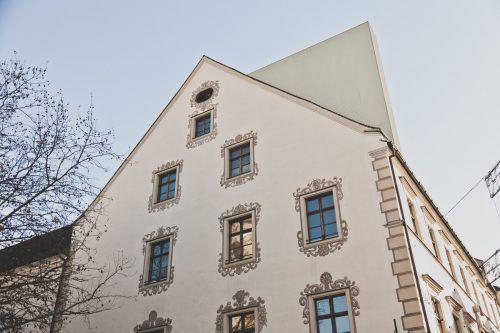 Der markante Dachausstieg dominiert seit rund drei Jahren das Erscheinungsbild des Palais Liechtenstein. Nun soll er wieder rückgebaut werden.Keckeis/VN(2)
