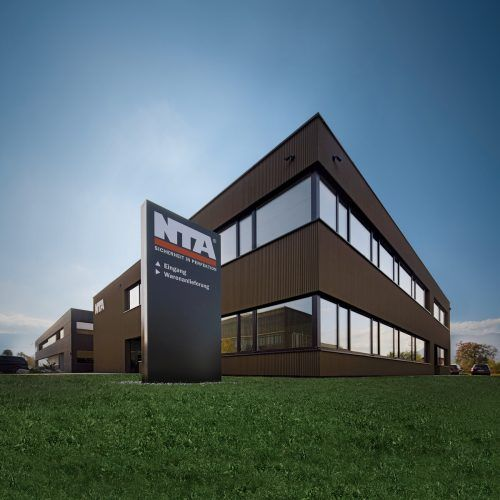 Der neue Firmenstammsitz von NTA in Rankweil wurde kürzlich fertiggestellt. nta