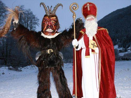 Der Nikolaus kommt auch in der Gemeinde Gaschurn – nur anders.Thomas Wittwer