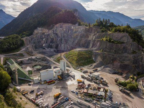 Der Steinbruch in Lorüns soll erweitert werden.VN/Steurer