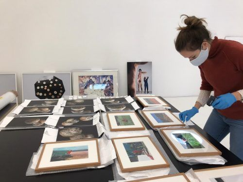 Die Galerie allerArt in Bludenz präsentiert die Kunstankäufe des Landes.Mathis-Rothmund