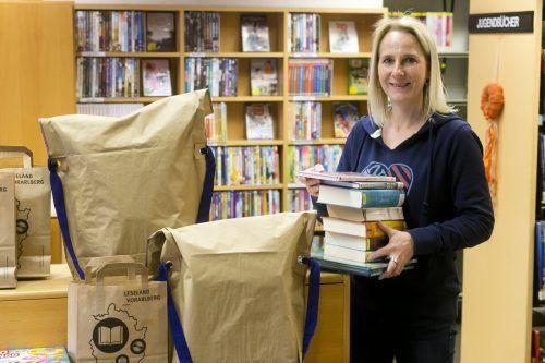 Die Bibliothek Rankweil bietet ihren Leserinnen und Lesern in den nächsten Wochen einen Abholservice an.Dietmar Mathis