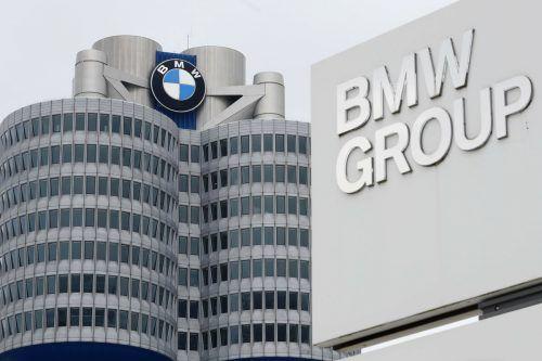 Die BMW hat positive Zahlen präsentiert, wagt aber keine langfristige Prognose. AP