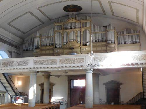 Die große Behmann-Orgel muss um rund 360.000 Euro restauriert werden.mima (2)