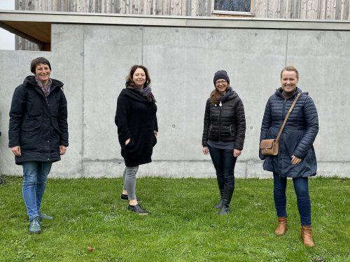 Die Gründerinnen der Initiative Tatendrang Michalea Müller, Andrea Hollenstein, Gabi Hampson und Christine Bösch-Vetter.vv