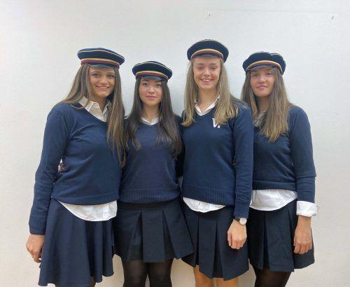 Die HLW-Riedenburg-Schülerinnen beeindruckten mit ihrer Diplomarbeit.