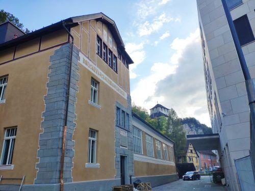 Die Jahnhalle in Feldkirch wurde Anfang des 20. Jahrhunderts nach Plänen des bedeutenden Architekten Ernst Dittrich erbaut. VN/MIH