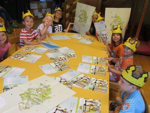"""Die Kinder in den Nenzinger Kindergärten sind angehende """"Energiemeister"""".KiGa"""