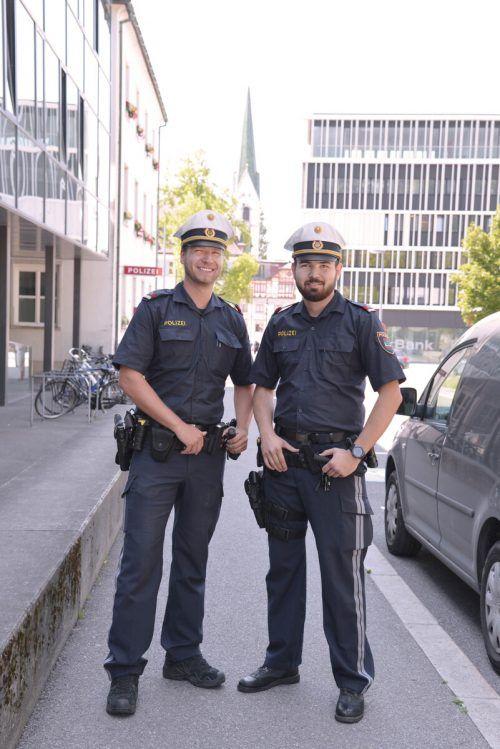 Die Stadt Dornbirn sucht Nachwuchspolizisten. Stadt Dornbirn