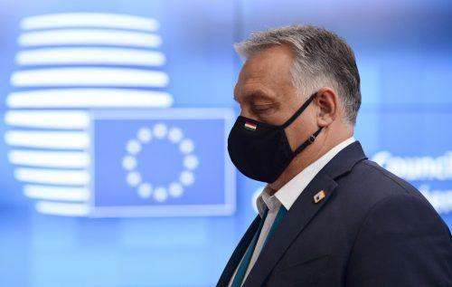 Die ungarische Regierung von Ministerpräsident Orban will das neue Verfahren zur Ahndung von Verstößen gegen die Rechtsstaatlichkeit nicht akzeptieren. AFP