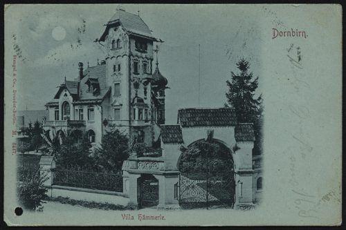 Die Villa Hämmerle ist heute noch zu bewundern.