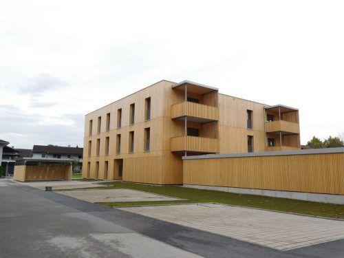Die Wohnanlage in der Löherstraße konnte nach nur acht Monaten Bauzeit planmäßig fertiggestellt werden. Mäser