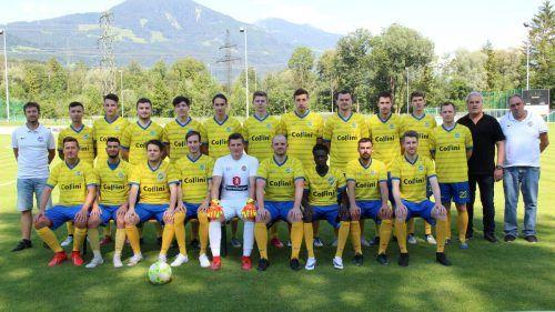Die zweite Mannschaft des VfB Hohenems möchte die Erfolgsgeschichte aus diesem Jahr auch 2021 fortsetzen.cth