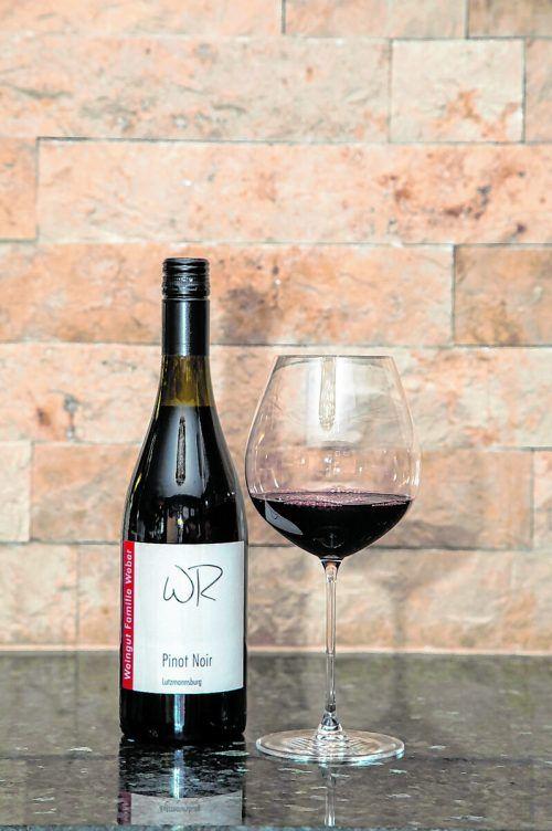 Dieser Rotwein passt wunderbar zum Rote-Beete-Mousse mit Linsen.VN/Paulitsch