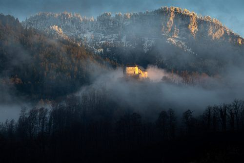 Dieses Foto vom Schloss Glopper in Hohenems hat Benjamin Bilgeri eingesendet.