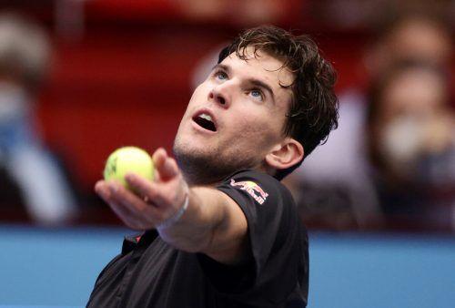 Dominic Thiem beginnt das ATP-Finale mit dem Spiel gegen Stefanos Tsitsipas.Reuters