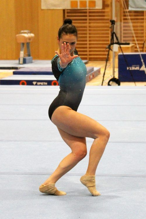 Elisa Hämmerle holte Gold am Boden und im Team, wurde Vizemeisterin im Mehrkampf sowie am Stufenbarren. ÖFT
