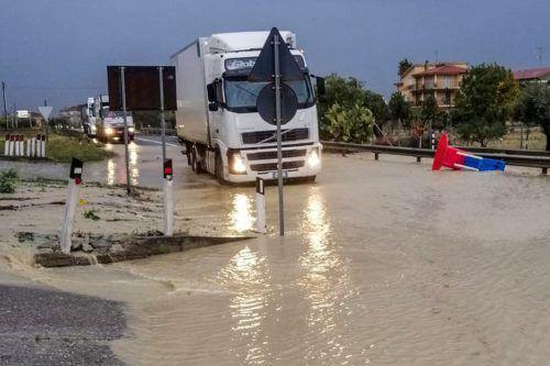 Es werden noch weitere Niederschläge erwartet. Stringer/AFP