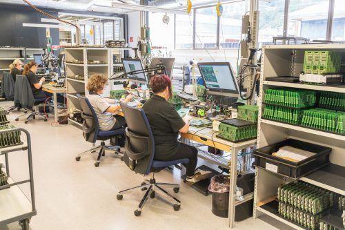 Feldkirch ist das Herz des Unternehmens: Hier wird entwickelt und produziert, das hat sich auch im Lockdown bezahlt gemacht.VN