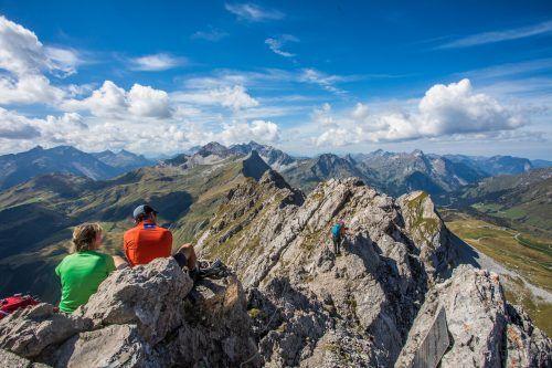 Für Kletterer und Wanderer ein Muss: die Apps von Bergfex.VN/Steurer