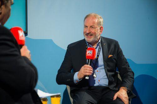 """Gastronom Versluis: """"Hilfe des Landes ist in Österreich einzigartig."""" VN/ps"""