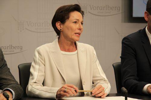 Gesundheitslandesrätin Rüscher beantwortet alle Fragen zu den Einschränkungen.