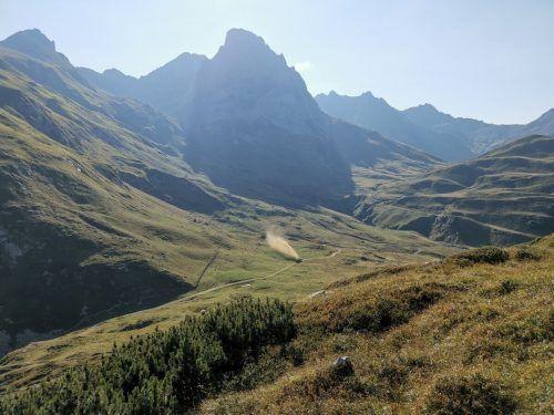 Gülle auf der Alpe: Die Aufnahmen wurden laut VGT Ende September auf der Brazer Staffel in der Nähe der Ravensburger Hütte gemacht. VGT
