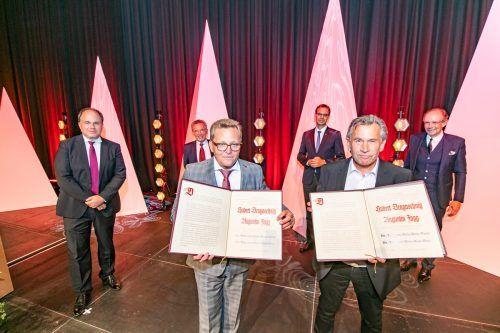 Heuer ging der Preis an Augustin Jagg und Hubert Dragaschnig. Damit wurde der Wert kulturellen Schaffens gewürdigt.