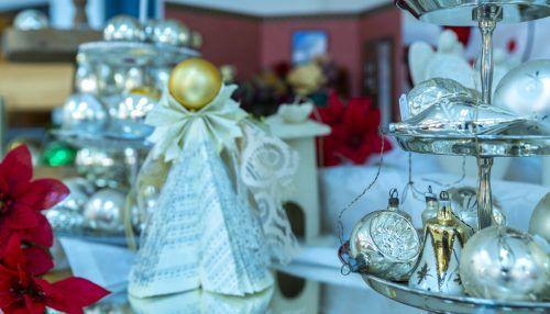 Im WirkRaum der Caritas entsteht wieder ein weihnachtlicher Geschenkeladen.Caritas