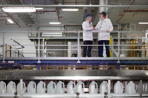 Inhouse-Werke von ALPLA werden in unmittelbarer Nähe zum Kunden betrieben. Foto/Grafik: ALPLA