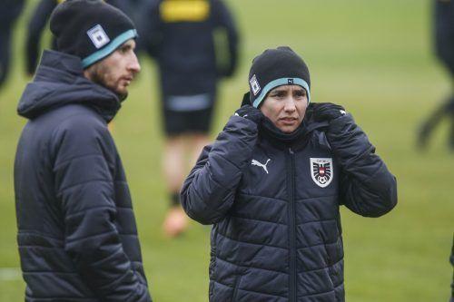 Österreichs Teamchefin Irene Fuhrmann sieht gute Chancen in Frankreich.paulitsch