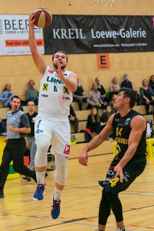Ivica Dodig erzielte in Mistelbach immerhin 14 Punkte für die Lions.Stiplovsek