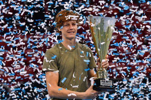Jannik Sinner ist der jüngste Turniersieger auf der ATP-Tour seit 2008.AFP