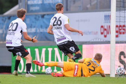 Johannes Tartarotti (links) und Daniel Nussbaumer rückten ins U-21-Team auf.gepa