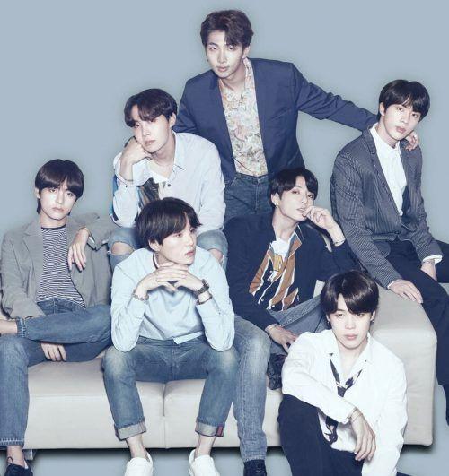 Konnten gleich mehrere Preise einheimsen: BTS aus Korea. bts