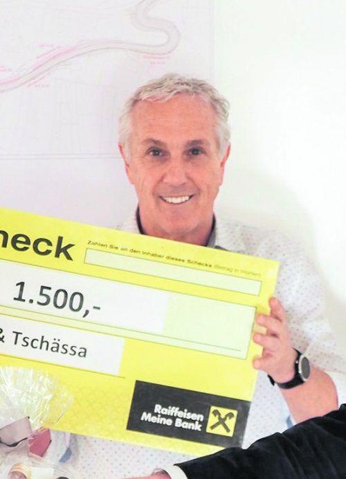 KPV-Obmann Klaus Bitsche freute sich über die finanzielle Unterstützung. Gemeinde