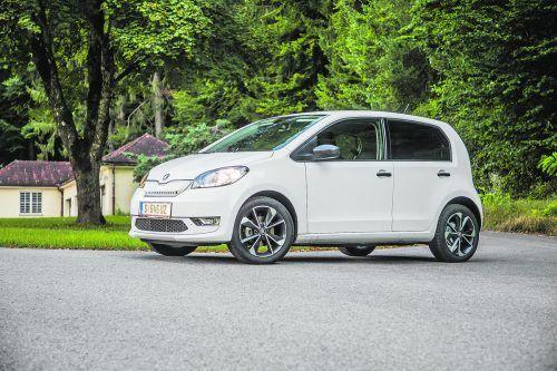 Kurz und bündig: Der Minimal-Stromer kann mit seiner Einfachkeit im normalen Autoalltag durchaus punkten.Vn/steurer